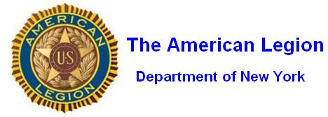 The american legion detachment of new york home page for American legion letterhead template