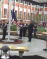 Cadence Square Flag Dedication